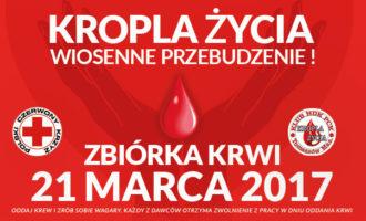 Kropla życia – wiosenne przebudzenie! Oddaj krew potrzebującym