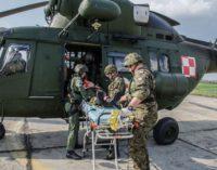 Zajęcia taktyczno-medyczne Powietrznej Jednostki Ewakuacji Medycznej