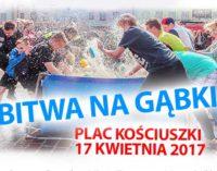 """""""Bitwa na gąbki"""" w lany poniedziałek na placu Kościuszki (impreza odwołana)"""