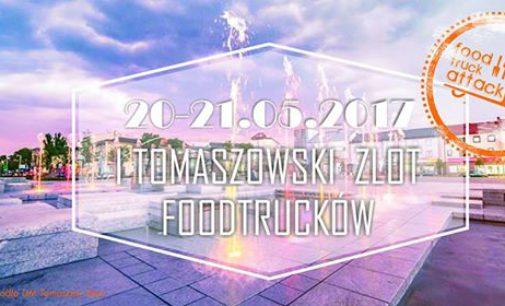 I Tomaszowski Zlot Food Trucków w weekend na pl. Kościuszki