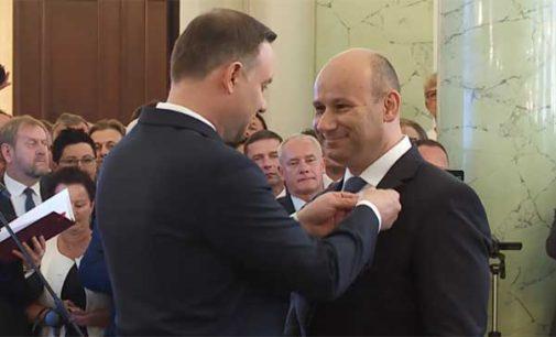 Marcin Witko odznaczony Krzyżem Kawalerskim Odrodzenia Polski (WIDEO)