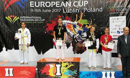 Tomaszowianki pod okiem mistrzyni Marty Mysur na Pucharze Europy w Taekwon-do