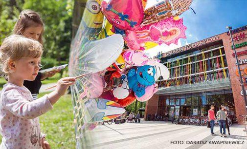 Dzień Dziecka na bulwarach przy Galerii Tomaszów (ZDJĘCIA)