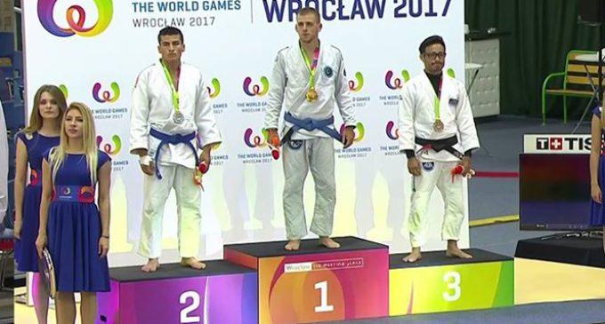 """Złoty medalista """"THE WORLD GAMES 2017"""" z wizytą w Tomaszowie Mazowieckim!"""