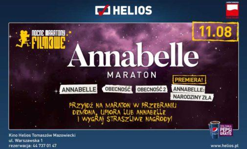 Maraton Annabelle w kinie Helios Tomaszów