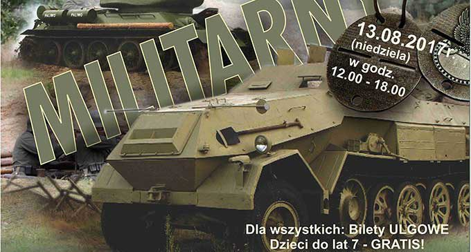 W niedzielę Piknik Militarny w Skansenie Rzeki Pilicy