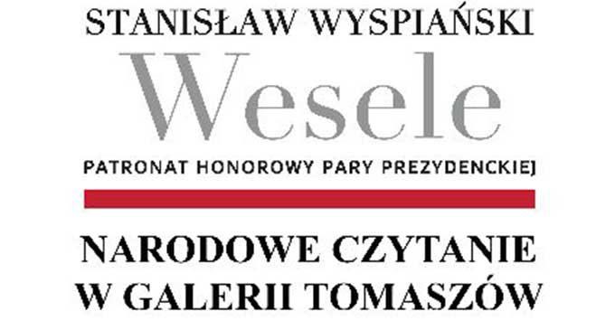 """Narodowe Czytanie """" Wesela"""" z wnuczką Stanisława Wyspiańskiego"""