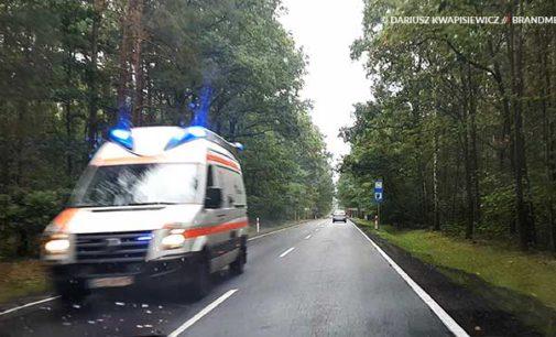 Tragedia na drodze do Spały. Dwie osoby nie żyją