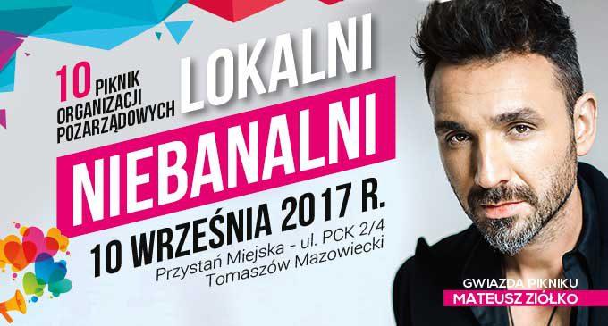 """Jubileuszowa edycja """"Lokalnych Niebanalnych"""". Gwiazdą Mateusz Ziółko"""