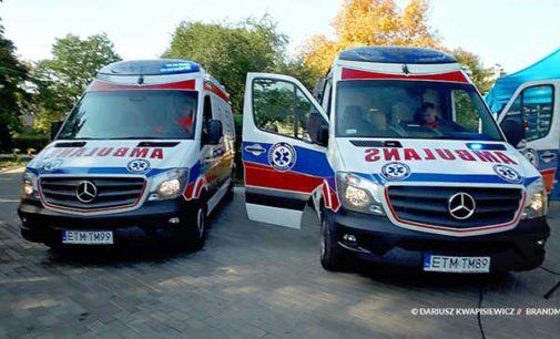 Nowe karetki dla Pogotowia Ratunkowego w Tomaszowie Mazowieckim