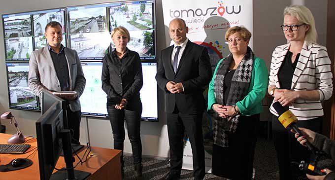 11 nowoczesnych kamer 4K będzie monitorowało ulice Tomaszowa Mazowieckiego