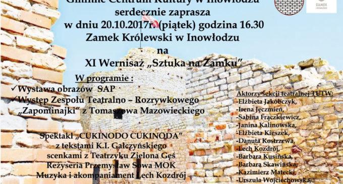 """XI Wernisaż """"Sztuka na Zamku"""" w Inowłodzu"""