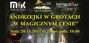"""Andrzejki w Grotach """"W magicznym lesie"""""""