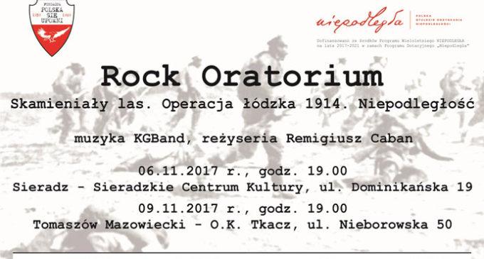 Rock Oratorium – Skamieniały Las. Operacja Łódzka 1914. Niepodległość z muzyką KGBand