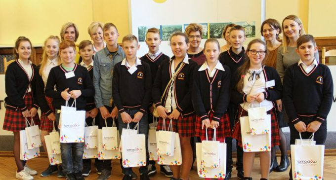 Uczniowie z Litwy w Tomaszowie Mazowieckim