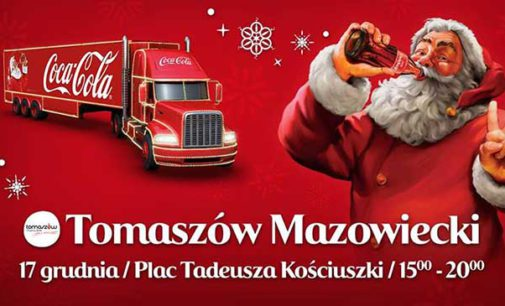 Jarmark Świąteczny i ciężarówka Coca-Coli na pl. Kościuszki