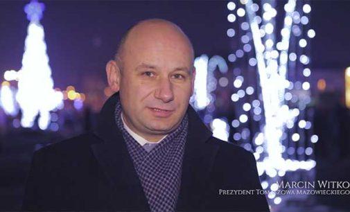 Życzenia świąteczne prezydenta Marcina Witko (WIDEO)