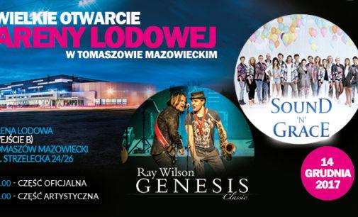 Sound'N'Grace i Ray Wilson uświetnią uroczystość otwarcia Areny Lodowej w Tomaszowie Mazowieckim