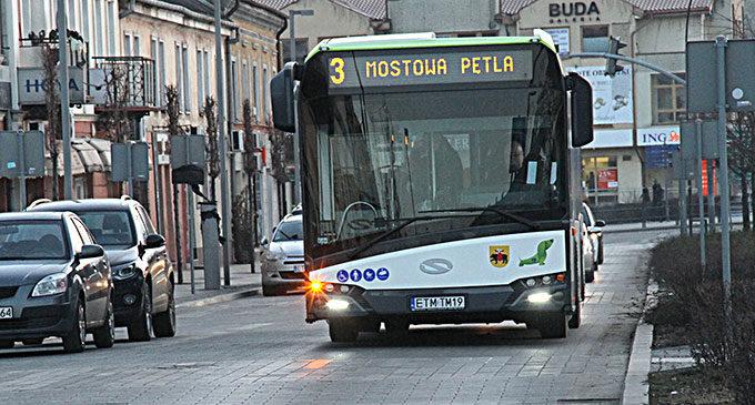 Od 18 maja zmiana limitu pasażerów w autobusach