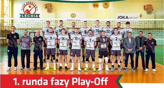I runda fazy Play-off. Przed nami mecze KS Lechia Tomaszów Maz. vs Exact Systems Norwid Częstochowa