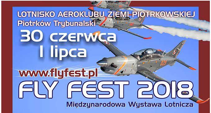 FLY FEST 2018. W sobotę i niedzielę pokazy lotnicze w Piotrkowie!