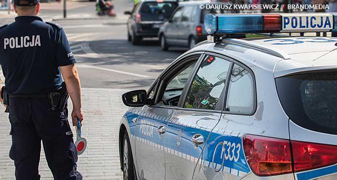 27 latek uciekł z oddziału zamkniętego tomaszowskiego szpitala. Policjanci odnaleźli go przy ul. L.W. May'a