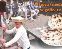 """""""Od ziarenka do bochenka"""" – pokazowe warsztaty etnograficzne w Skansenie Rzeki Pilicy"""