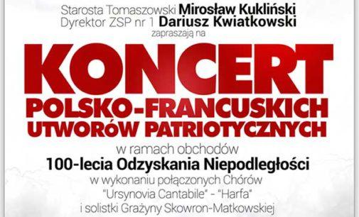KONCERT POLSKO-FRANCUSKICH UTWORÓW PATRIOTYCZNYCH