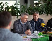 KS Lechia Tomaszów Mazowiecki – spotkanie z dziennikarzami (WIDEO)