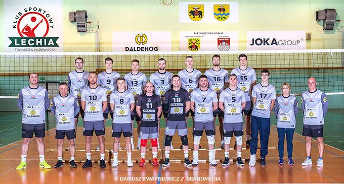 Lechia zagra w Częstochowie z AZS. Transmisja w Polsat Sport
