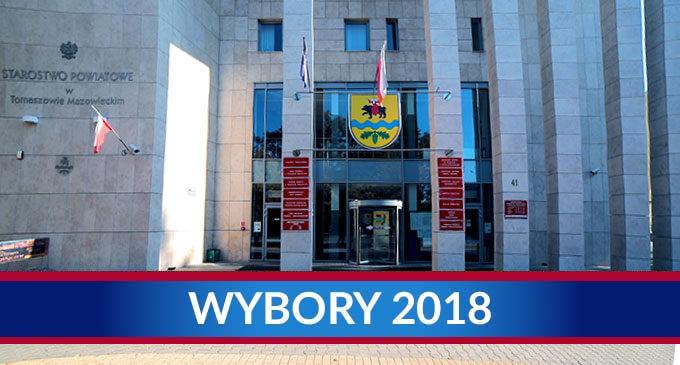 Wyniki wyborów do Rady Powiatu Tomaszowskiego