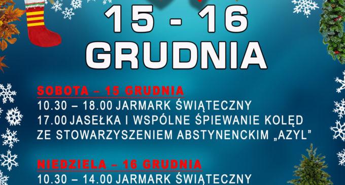 Jarmark Świąteczny na placu Kościuszki