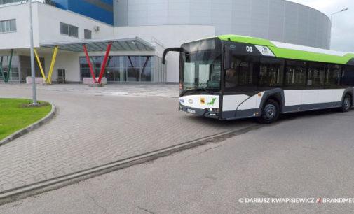 Autobusem MZK do Areny Lodowej