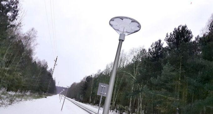 Oświetlenie i nowa nawierzchnia ścieżki rowerowej w kierunku Grot Nagórzyckich