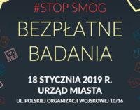 Bezpłatne badania i spotkanie dot. smogu