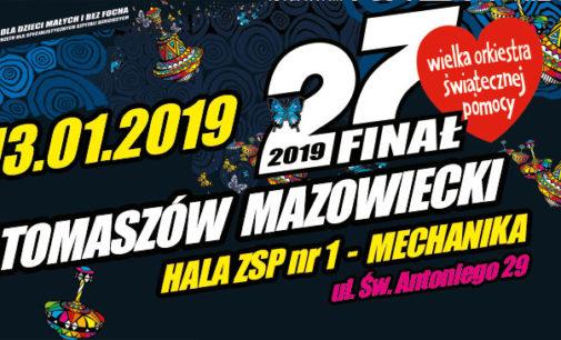 27. Finał WOŚP w Tomaszowie Mazowieckim (PROGRAM)