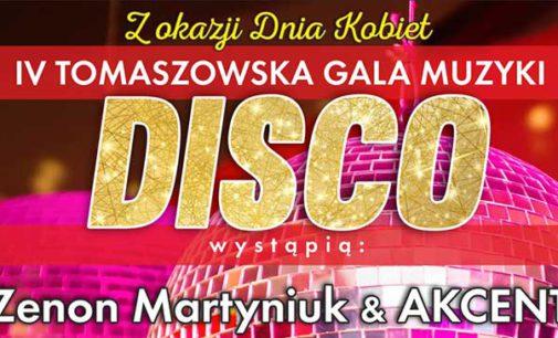 8 marca IV Tomaszowska Gala Muzyki DISCO