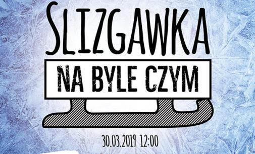 """Mistrzostwa Polski w """"Ślizganiu na byle czym"""" w Arenie Lodowej!"""