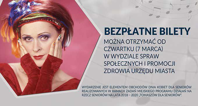 Recital Danuty Stankiewicz w Tomaszowie