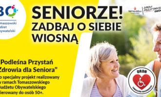 Seniorze! Zadbaj o siebie wiosną