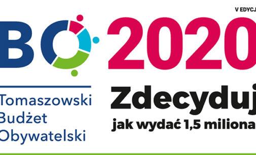 Rusza Tomaszowski Budżet Obywatelski 2020. Do wydania 1,5 miliona zł!