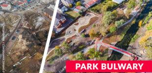 Park Bulwary już dostępny dla mieszkańców. Zmienił się nie do poznania.