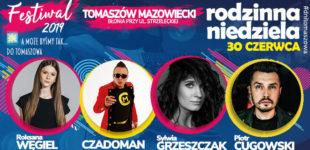 Roksana Węgiel, Sylwia Grzeszczak, Piotr Cugowski i Czadoman w niedzielę na tomaszowskich Błoniach