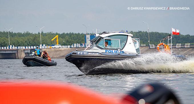 Ruszył sezon wypoczynku nad wodą. Odprawa służb nad Zalewem Sulejowskim (ZDJĘCIA)