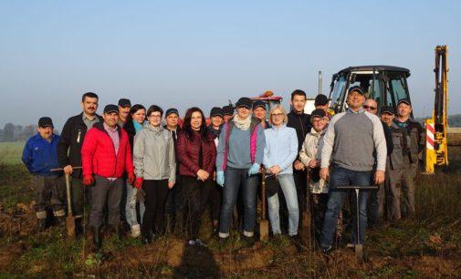Proekologiczna akcja pracowników urzędu gminy Ujazd