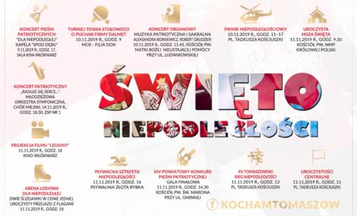 Święto Niepodległości w Tomaszowie – (harmonogram wydarzeń)