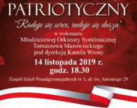 """Koncert patriotyczny """"Raduje się serce, raduje się dusza…"""""""