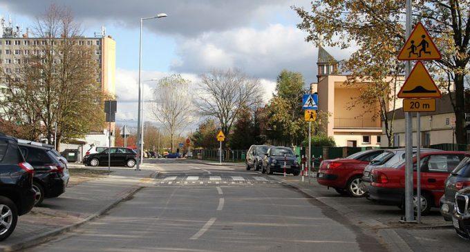 Ulica Kombatantów przebudowana w ramach Tomaszowskiego Budżetu Obywatelskiego.