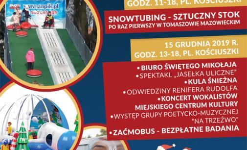 Coraz bliżej święta – impreza na pl. Kościuszki