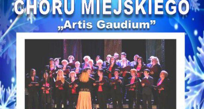 """Zaproszenie na koncert Chóru Miejskiego """"Artis Gaudium"""""""